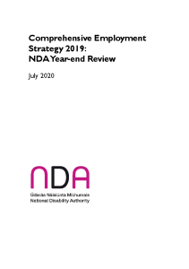 Comprehensive Employment Strategy 2019 NDA Year End Review front page preview