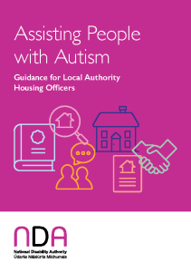Assisting People with Autism: Guidance for Local Authority Housing Officers front page preview