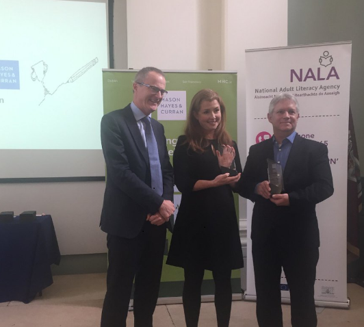 NALA Plain English Award -Best Use of plain English by an organisation