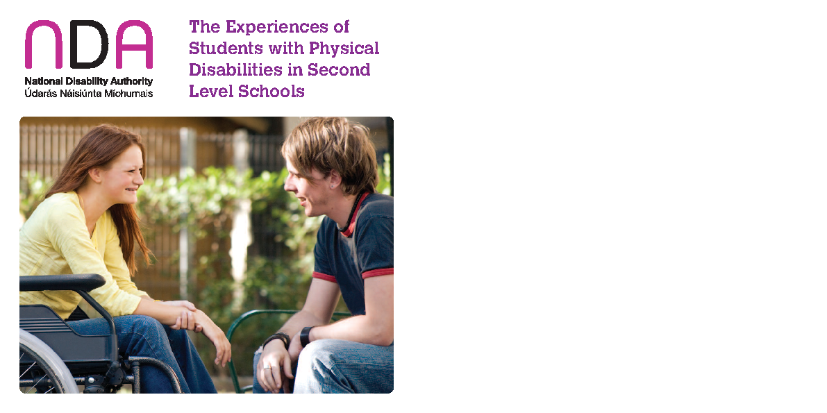 Experience of Students with Physical Disabilities front page preview