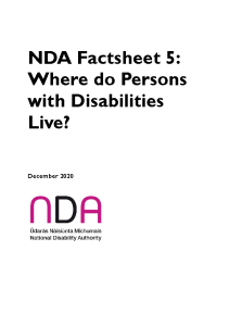 NDA Factsheet 5 Housing Briefing Information front page preview